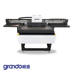 600mm-900mm High performance Mini UV Flatbed Printer GD-6090UV Plus